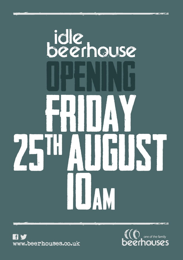 Opening Friday 25th August